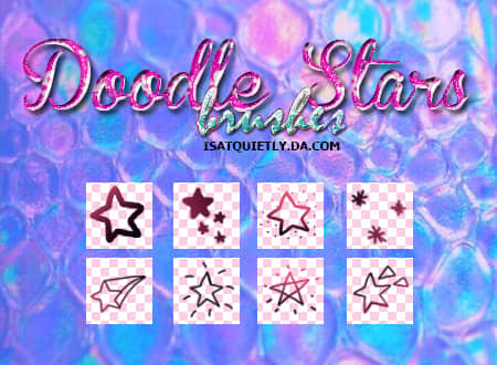 手绘卡通涂鸦星星符号图案Photoshop五角星笔刷 星星符号笔刷 星星笔刷 手绘卡通星星笔刷 可爱笔刷 卡哇伊笔刷 五角星笔刷  symbols brushes %e5%8d%a1%e9%80%9a%e7%ac%94%e5%88%b7