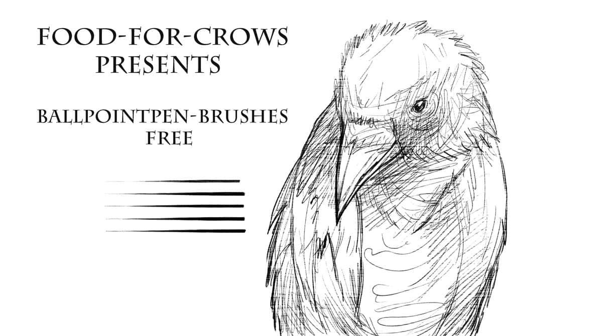 手绘专用细腻的素描笔刷PS素材下载 绘画笔刷 素描笔刷 插画笔刷 手绘笔刷  photoshop brush