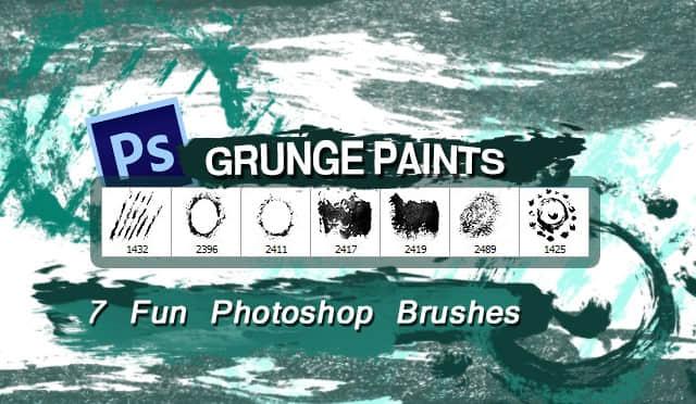 7种高清油漆纹理效果PS油漆笔刷素材 油漆纹理笔刷  %e6%b2%b9%e6%bc%86%e7%ac%94%e5%88%b7