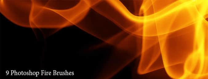 燃烧的火焰笔刷
