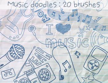音乐符号笔刷