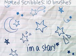 明星涂鸦笔刷
