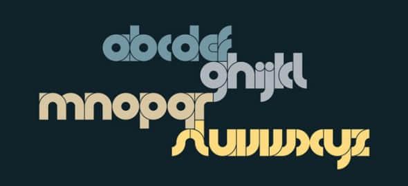 字体标志设计参考