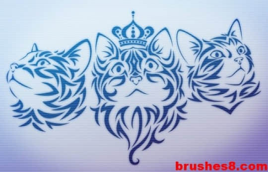 贵族猫笔刷