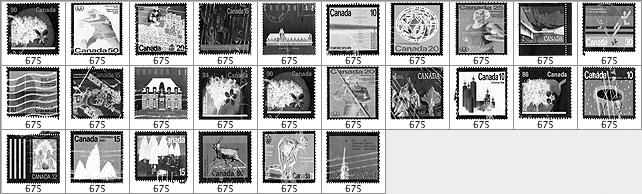 加拿大邮票笔刷
