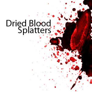 血流飞溅笔刷