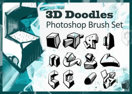 3D涂鸦笔刷