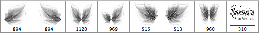 仙女翅膀笔刷