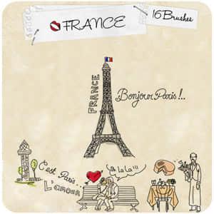 法国元素笔刷