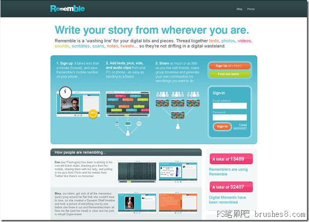 6个功能丰富的网站UI给你设计灵感