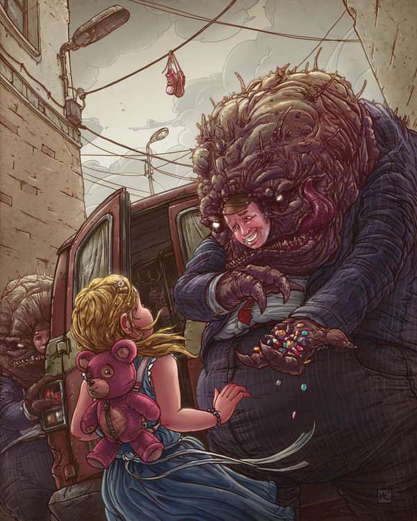 2011最新卡通插画欣赏