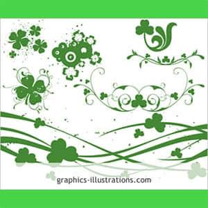 节日花纹艺术装饰笔刷