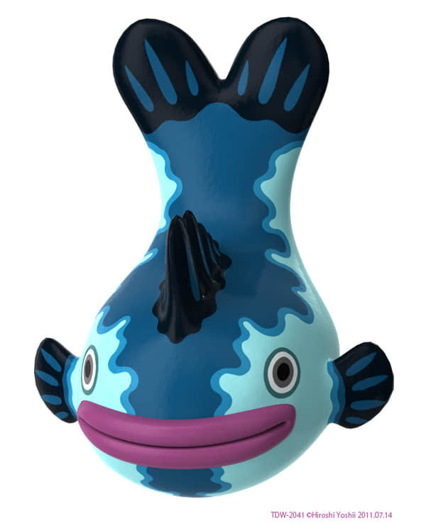 2011年最后一组可爱的玩具设计参考