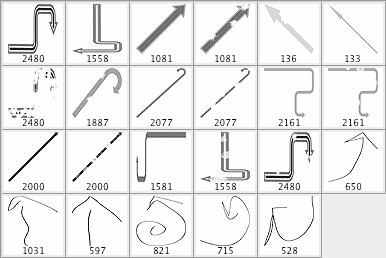箭头符号笔刷