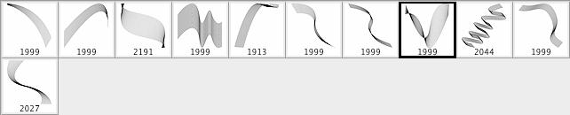 又一款分形曲线笔刷