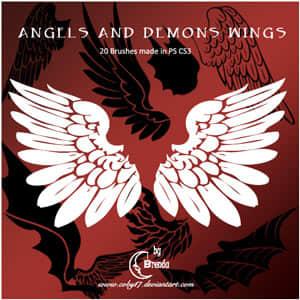 天使与恶魔的翅膀笔刷