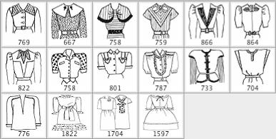 西方贵族式传统礼服笔刷