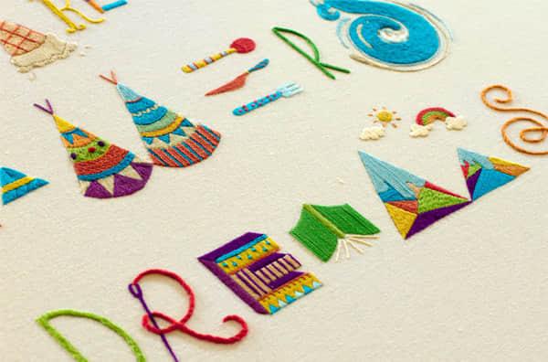 创意刺绣——装饰你的个性生活!