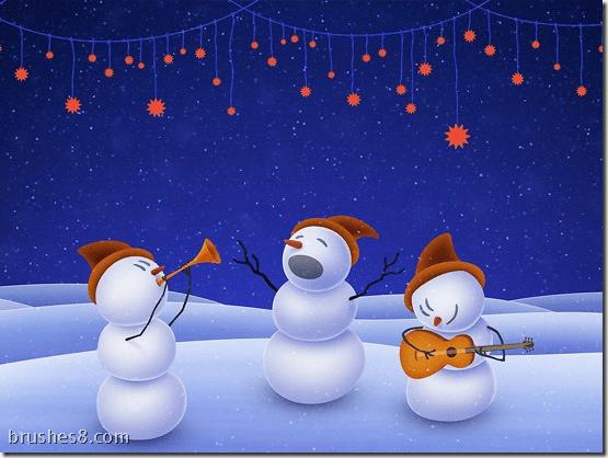 圣诞节卡通壁纸下载