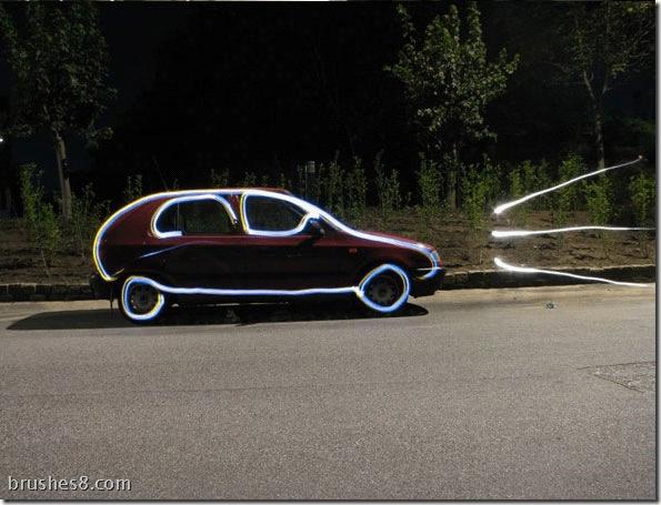 30个超酷流光涂鸦照片欣赏