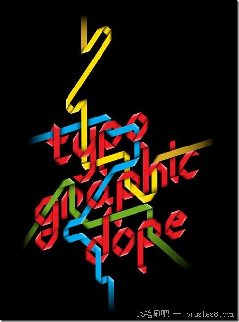 20个文字国外海报设计参考