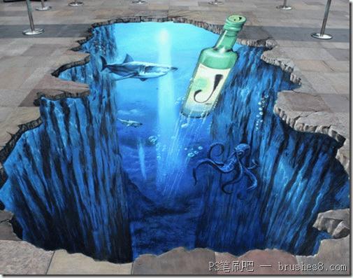 20个壮观的街头3D图画