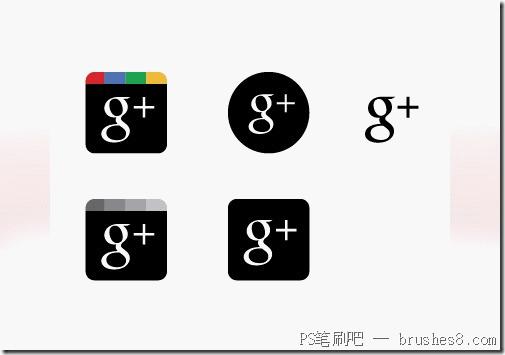 15个谷歌+按钮图标素材下载