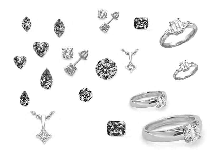 订婚戒指结婚戒指笔刷
