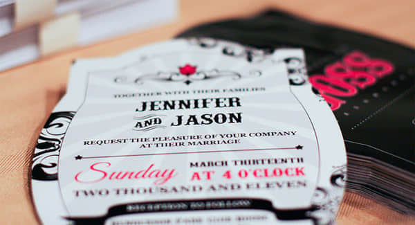 30张富有创意的邀请卡与邀请函设计