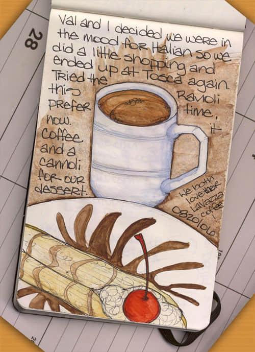 笔记本上的艺术《涂鸦大师的作品欣赏》
