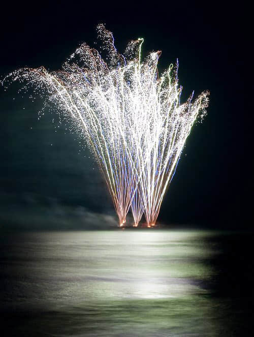 100张焰火表演摄影照片