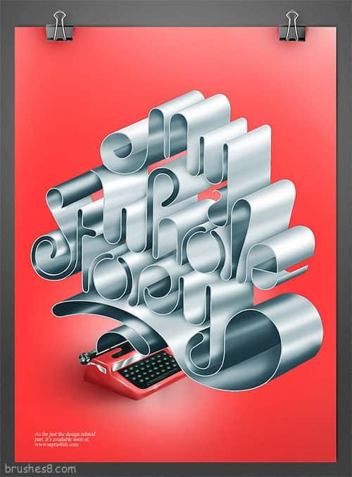 3D标志设计-平面设计师的想象力