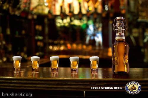 最好的40个啤酒广告平面设计