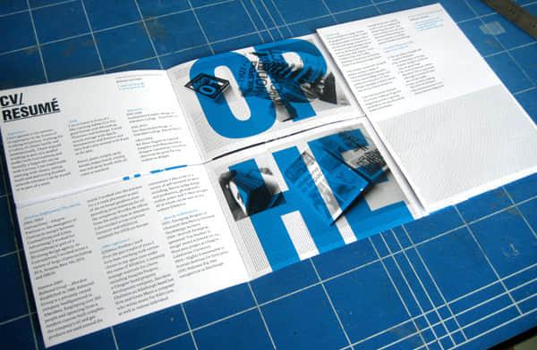 25份设计独特的简历欣赏