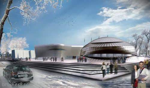46张新概念设计国外体育馆照片