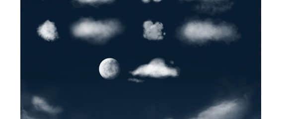 多种云朵笔刷