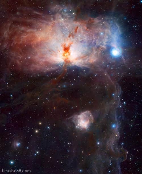 美丽的宇宙银河照片欣赏