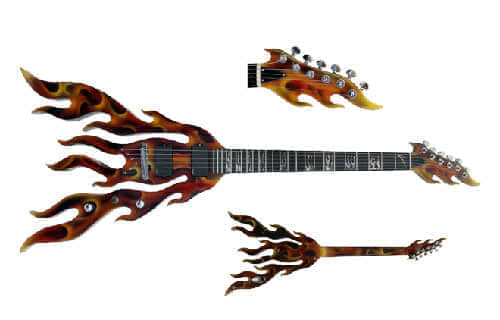 31把的个性化小提琴、大提琴和吉他欣赏