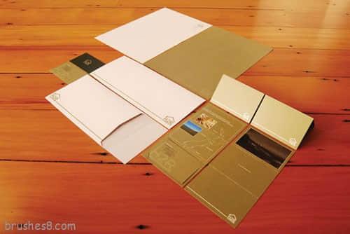 60个酷炫的信封信纸设计 - 国外企业文化