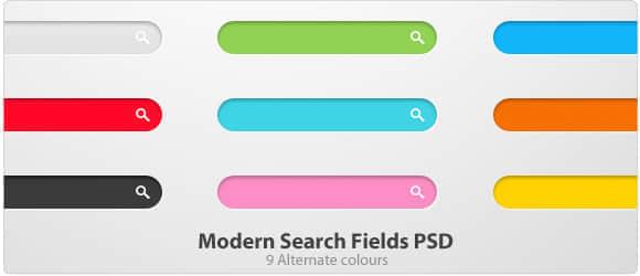 搜索框webPSD素材下载