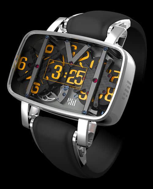 53例未来时尚概念手表设计欣赏