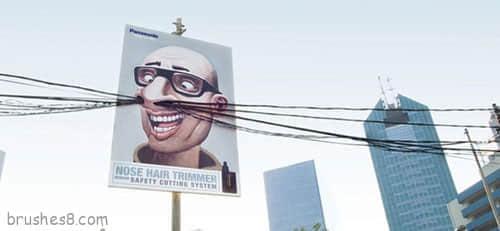 55个创意独特的广告牌设计
