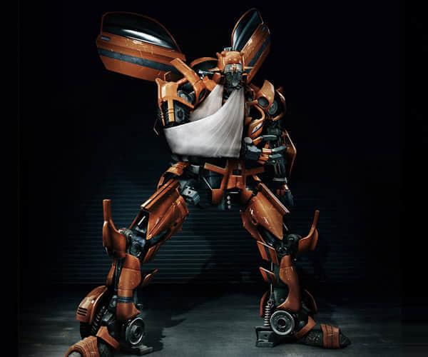 40个机器人艺术插画欣赏