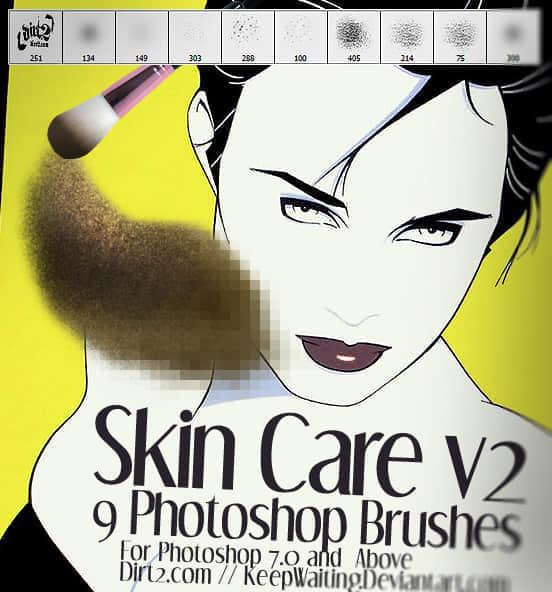 皮肤护理笔刷