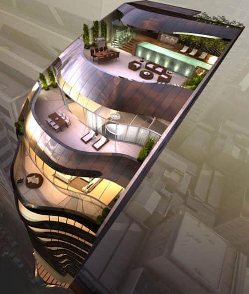 20例美丽的豪宅公寓楼建筑设计
