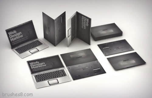 新收集的国外经典名片设计成品大展览