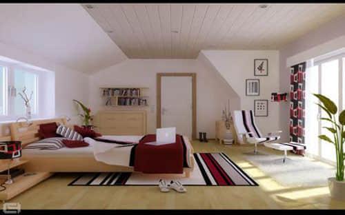 40个国外奇思妙想的室内起居装修设计