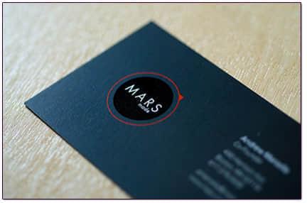 30张优雅的商务卡片设计