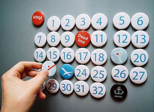 10个最具创意的日历设计