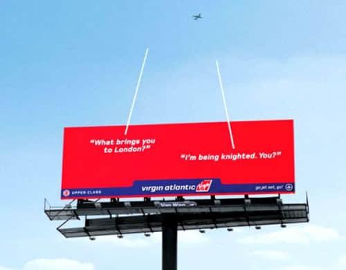 35个有趣的平面广告牌设计